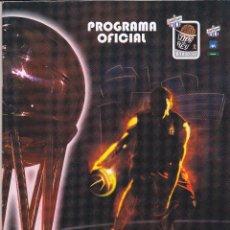 Coleccionismo deportivo: PROGRAMA OFICIAL COPA DEL REY DE BALONCESTO ACB, BILBAO 2010. Lote 52375153