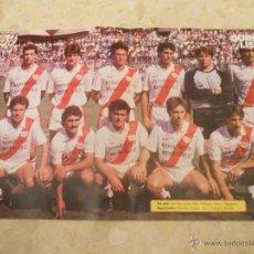 Coleccionismo deportivo: QUINIELISTA.POSTER RAYO VALLECANO.. Lote 52613882