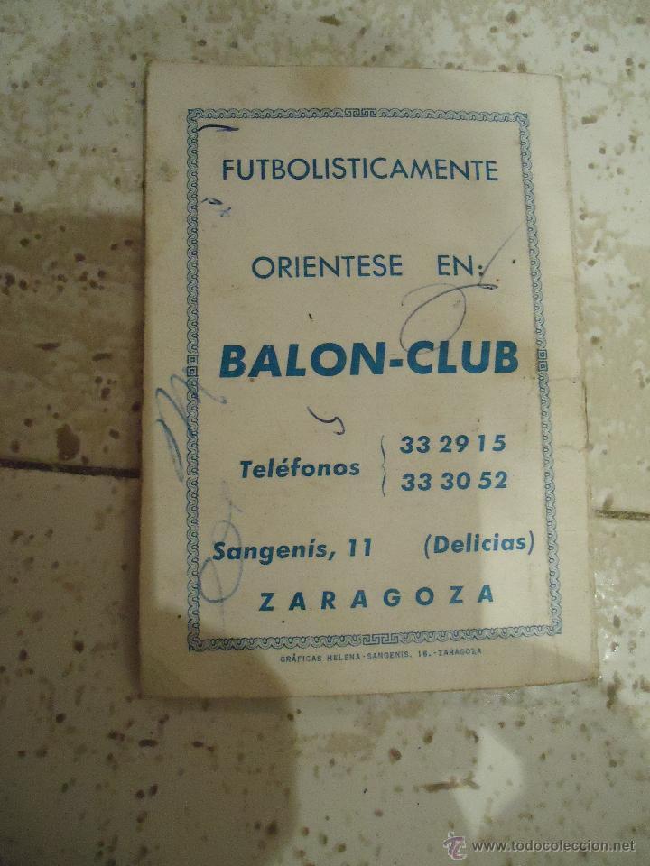 Coleccionismo deportivo: calendario de futbol primera regional 1970 /71 - Foto 2 - 52824317