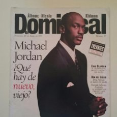 Coleccionismo deportivo: DOMINICAL EL PERIÓDICO DE CATALUNYA - MICHAEL JORDAN NBA BASKETBALL CHICAGO BULLS + STAR TREK. Lote 53035643