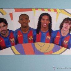 Coleccionismo deportivo: PARTICIPACIÓN LOTERIA NACIONAL 22-12-2004 )EMPLEADOS F.C.BARCELONA. Lote 53122044