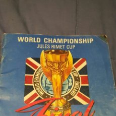 Coleccionismo deportivo: 1966 WORLD CUP FINAL ENGLAND V WEST GERMANY PROGRAMME. PROGRAMA-REVISTA, FINAL. Lote 53244743