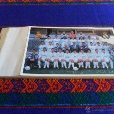 Coleccionismo deportivo: REAL MADRID 50 PAPELETAS PLANTILLA 1995 1996 SORTEO PEÑA MADRIDISTA LAS ÁGUILAS. BUEN ESTADO.. Lote 53251007