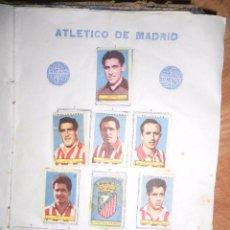 Coleccionismo deportivo: PLANTILLA FUTBOL ATLETICO MADRID CROMOS ANTIGUOS 1953 1954 DEL ALBUM POLLUELOS Nº 4. Lote 53705769