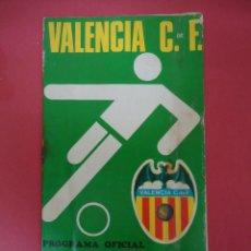 Coleccionismo deportivo: PROGRAMA OFICIAL VALENCIA C.F. ELCHE C.F.. CAMPEONATO DE LIGA TEMPORADA 1973-74. Lote 53987543