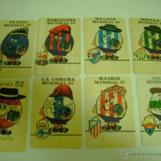 Coleccionismo deportivo: LOTE ADHESIVO MUNDIAL 82 DE FUTBOL. Lote 54160058