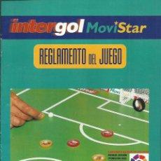 Coleccionismo deportivo: REGLAMENTO DEL JUEGO DE LAS CHAPAS . Lote 54383511