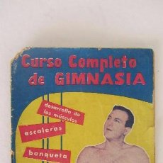 Coleccionismo deportivo: CURSO COMPLETO DE GIMNASIA. Lote 56254253