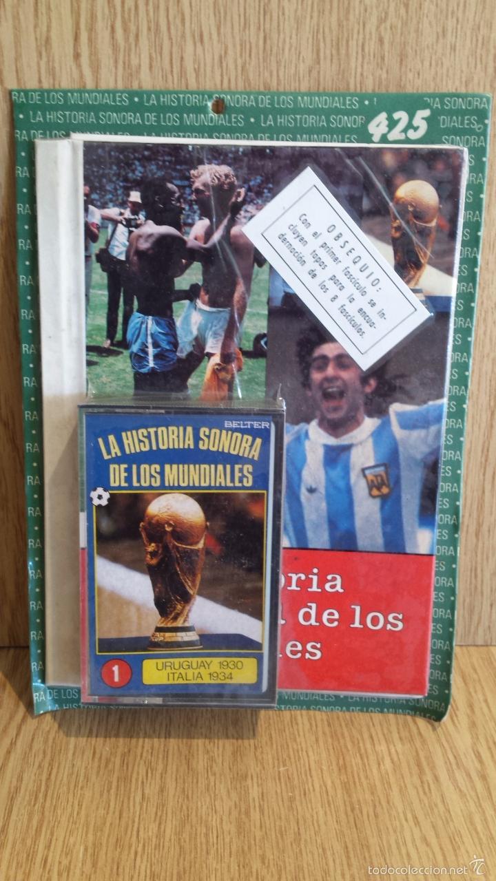 LA HISTORIA SONORA DE LOS MUNDIALES. Nº 1 / POR DESPRECINTAR. INCLUYE TAPAS PARA LA COLECCIÓN. (Coleccionismo Deportivo - Documentos de Deportes - Otros)