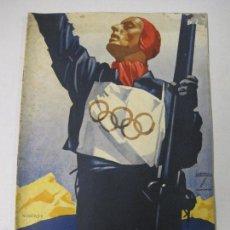 Coleccionismo deportivo: JUEGOS OLIMPICOS - OLIMPIADA BERLIN 1936 -REVISTA NUM 9 - VER FOTOS - (V-5687). Lote 57009875