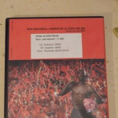 Coleccionismo deportivo: CAMPIONS IMATGES D'UNA FINAL INOBLIDABLE - DVD LA FINAL COPA DEL REY 2003 - REAL MALLORCA NUMERADA. Lote 57021306