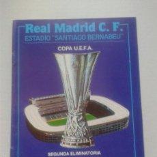Coleccionismo deportivo: PROGRAMA OFICIAL UEFA ** SEGUNDA ELIMINATORIA ***** 28 PAGINAS ** UTRECH- REAL MADRID ** UEFA 1991**. Lote 57238242