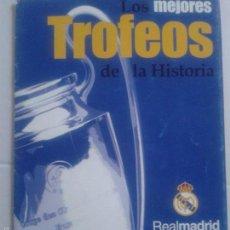 Coleccionismo deportivo: FOLLETO ** EXPOSICIÓN DE LOS MEJORES TROFEOS DE LA HISTORIA **REAL MADRID **. Lote 57280707