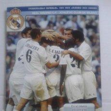 Coleccionismo deportivo: PROGRAMA OFICIAL 22 DE JUNIO DE 2003 **REAL MADRID C.F.- ATHLETIC DE BILBAO **. Lote 57280781