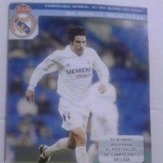 Coleccionismo deportivo: PROGRAMA OFICIAL 18 DE MAYO DE 2003 **REAL MADRID C.F.- MALAGA C.F. S.A.D. **. Lote 57280797