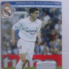 Coleccionismo deportivo: PROGRAMA OFICIAL 31 DE MAYO DE 2003 **REAL MADRID C.F.- R.C. CELTA DE VIGO S.A.D. **. Lote 57280812