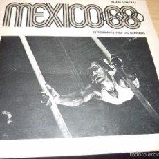 Coleccionismo deportivo: FOLLETO MEXICO 68 . RESEÑA GRAFICA , OLIMPIADAS NUMEROSAS FOTOS INSTALACIONES, ATLETAS COMITE ORGA. Lote 57353161