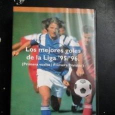 Coleccionismo deportivo: LOS MEJORES GOLES DE LA LIGA EN VIDEO. Lote 57992274