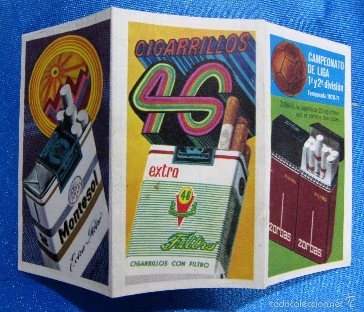 Coleccionismo deportivo: CALENDARIO Y RESULTADOS CAMPEONATO DE LIGA 1ª Y 2ª DIVISIÓN. TEMPORADA 1970 - 71. REGALO DE ZORBA... - Foto 2 - 58579611