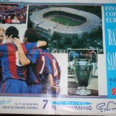 Coleccionismo deportivo: POSTER SPORT BARCELONA FINAL WEMBLEY 1992. Lote 62446708