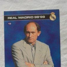Coleccionismo deportivo: TARJETA PIRRI REAL MADRID 98-99. Lote 62769648