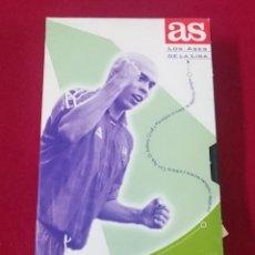 Coleccionismo deportivo: CINTA VHS - RONALDO - LOS ASES DE LA LIGA. Lote 63605636