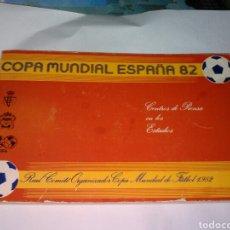 Coleccionismo deportivo: DOSSIER COPA MUNDIAL ESPAÑA 82 CENTROS DE PRENSA EN LOS ESTADIOS REAL CÓMITE ORGANIZACIÓN MUNDIAL 82. Lote 100542182