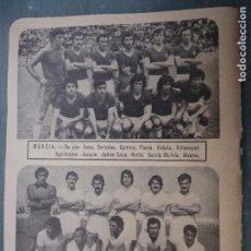 Coleccionismo deportivo: FUTBOL INFORMACION DEPORTIVA - CLUB EQUIPO PLANTILLA LIGA JUGADORES - MURCIA - CEUTA - FOTO 11. Lote 69069741