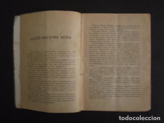 Coleccionismo deportivo: BOXEO -PAULINO UZCUDUN - DERROTADO POR UN ARBITRO - POR S. IBERO - VER FOTOS -(V-7800) - Foto 3 - 69078401