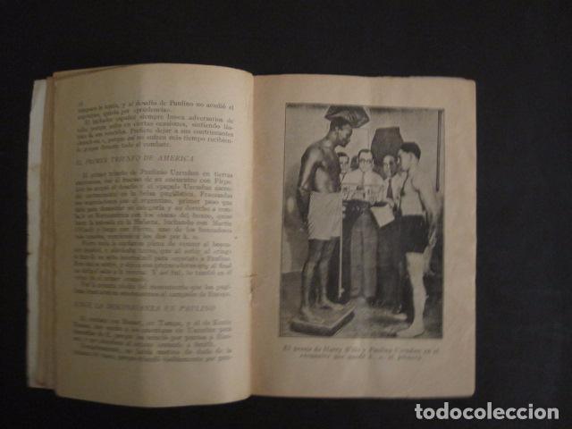 Coleccionismo deportivo: BOXEO -PAULINO UZCUDUN - DERROTADO POR UN ARBITRO - POR S. IBERO - VER FOTOS -(V-7800) - Foto 5 - 69078401