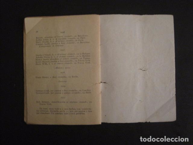 Coleccionismo deportivo: BOXEO -PAULINO UZCUDUN - DERROTADO POR UN ARBITRO - POR S. IBERO - VER FOTOS -(V-7800) - Foto 7 - 69078401