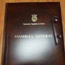 Coleccionismo deportivo: PORTAFOLIO FEDERACIÓN DE BOXEO 1980. Lote 73888099