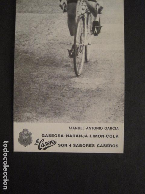 Coleccionismo deportivo: MANUEL ANTONIO GARCIA -CICLISMO - BICICLETAS - EQUIPO LA CASERA -VER FOTOS -(V-8555) - Foto 3 - 74457083