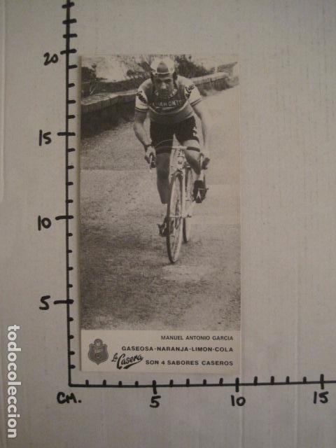 Coleccionismo deportivo: MANUEL ANTONIO GARCIA -CICLISMO - BICICLETAS - EQUIPO LA CASERA -VER FOTOS -(V-8555) - Foto 5 - 74457083