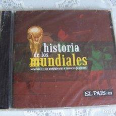 Coleccionismo deportivo: HISTORIA DE LOS MUNDIALES VOL. II. CD- ROM EL PAÍS. NUEVO, PRECINTADO.. Lote 76147939