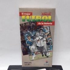 Coleccionismo deportivo: VIDEO VHS. EL MEJOR FUTBOL DE LA HISTORIA. VOL.4. Lote 80866171