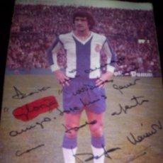 Coleccionismo deportivo: RAFA MARAÑON - FOTO DEDICADA. Lote 174063423