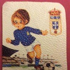 Coleccionismo deportivo: REAL OVIEDO. MEDIDAS 7,5 CM X 10,5 CM. Lote 82782936