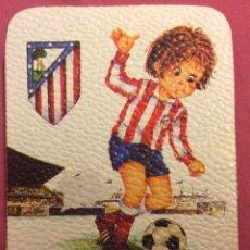 Coleccionismo deportivo: AT MADRID. MEDIDAS 7,5 CM X 10,5 CM. Lote 82783060