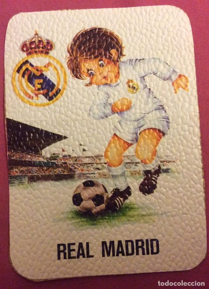 REAL MADRID. MEDIDAS 7,5 CM X 10,5 CM (Coleccionismo Deportivo - Documentos de Deportes - Otros)