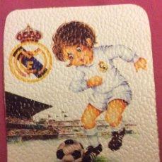 Coleccionismo deportivo: REAL MADRID. MEDIDAS 7,5 CM X 10,5 CM. Lote 82783284