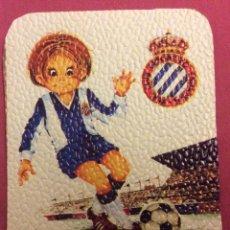 Coleccionismo deportivo: REAL C.D.ESPAÑOL. MEDIDAS 7,5 CM X 10,5 CM. Lote 82783368