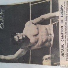 Coleccionismo deportivo: URTAIN, CAMPEON DE EUROPA-ABC 4-ABRIL-1970. Lote 83004552