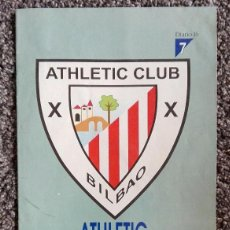 Coleccionismo deportivo: ATHLETIC CLUB DE BILBAO.. Lote 85646776