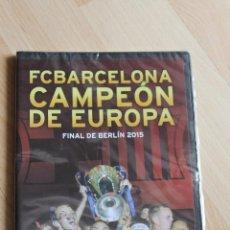 Coleccionismo deportivo: DVD FC BARCELONA FINAL BERLIN 2015 PRECINTADO JUVENTUS BARÇA. Lote 151556624