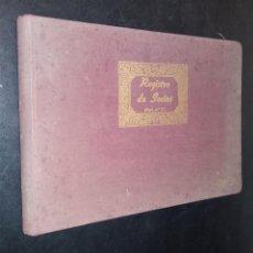 Coleccionismo deportivo: REGISTRO SOCIOS PEÑA MADRIDISTA DE LANGREO 1974 / MOD. Nº 13. / INCLUYE 2 CARNETS. Lote 86293540