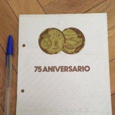 Coleccionismo deportivo: 75 ANIVERSARIO REAL MADRID FOTOGRAFIA PIRRI CON TROFEO 1977. Lote 88015368