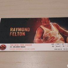 Coleccionismo deportivo: ENTRADA DE LA NBA. PARTIDO NEW YORK KNICKS & ORLANDO MAGIC.. Lote 89832640