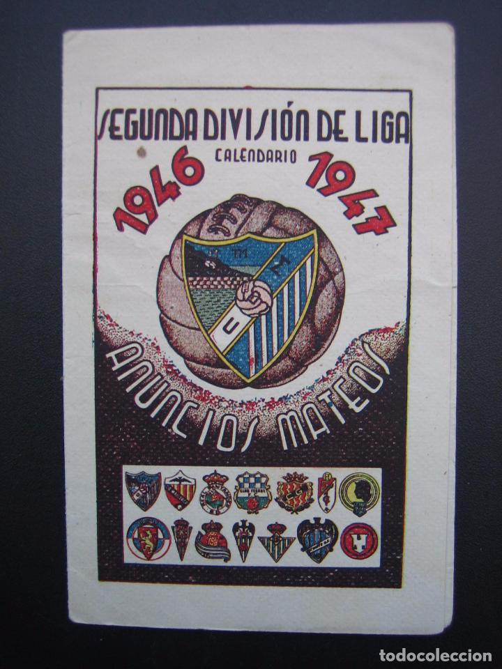 Calendario De Segunda Division De Futbol.Calendario Temporada 1946 1947 De Segunda Division De Futbol