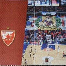 Coleccionismo deportivo: ENTRADA EUROLIGA. BASKONIA VS ESTRELLA ROJA DE BELGRADO. Lote 92115978